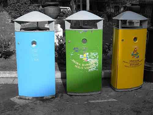 Qué diferencia hay entre basura orgánica y basura inorgánica